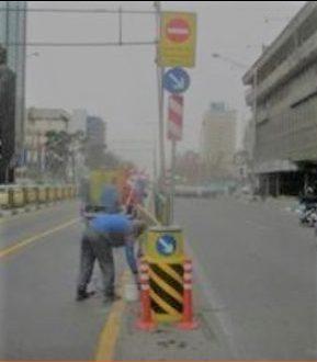 فروش مستقیم انواع تابلو و بشکه ترافیکی